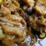 Cow leg curry
