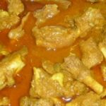 Goat legs curry