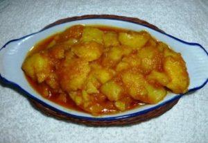 potato dhom