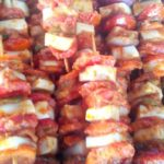 Vegetable shashlik recipe
