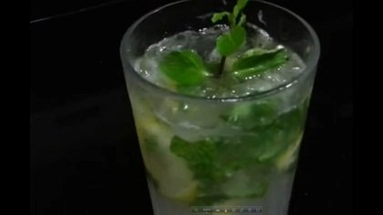 Drinks with mint