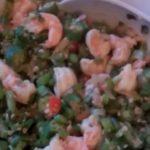 Okra recipes with prawn