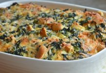 Spinach cheese recipe