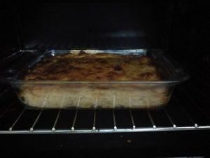 Fish cake baked