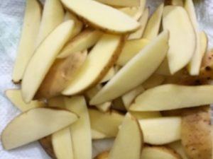 Airfryer recipes Potato wedges
