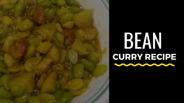 Bean curry recipe