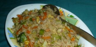 Beaten rice pulao recipe