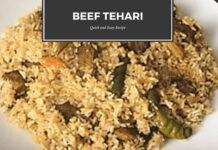 Beef Tehari Recipe