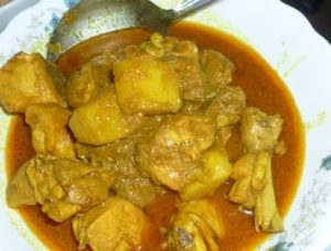Chicken spicy curry