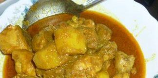 Chicken spicy curry