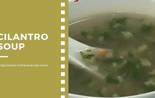 Cilantro Soup Recipes