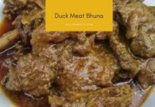 Duck Meat Bhuna
