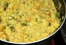 Vegetable khichuri recipe