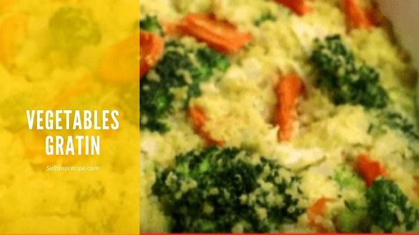 Vegetables Gratin