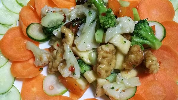 Different Vegetable Salad