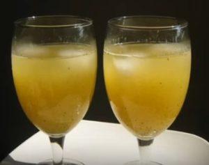 Green mango juice