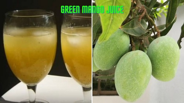 How to Make Green Mango Juice