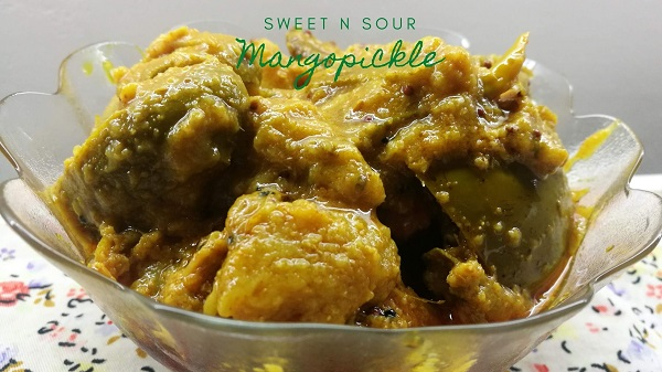 Sweet n Sour Mango pickle