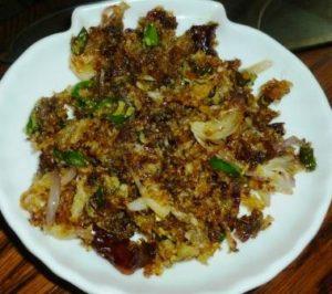 Bombay duck fish crispy fry