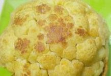 Whole cauliflower recipe