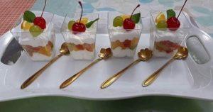 Dessert parfait recipe