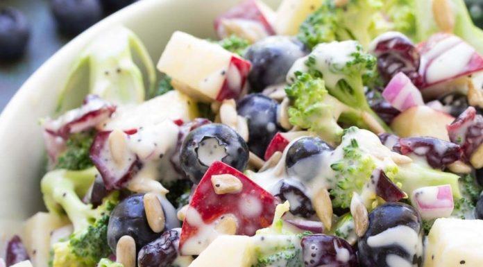 Weight Watcher Broccoli Salad