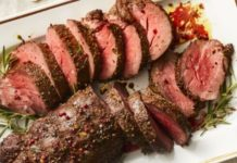 Peppercorn beef