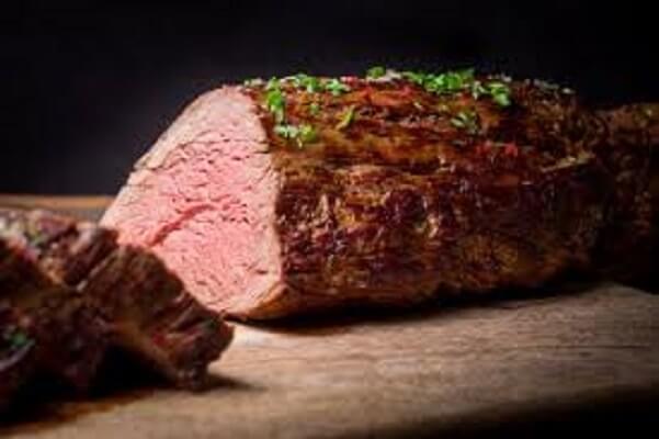 Peppercorn beef