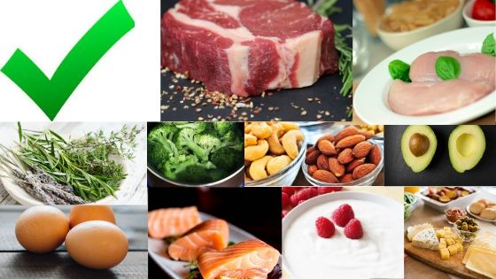 Keto  friendly foods