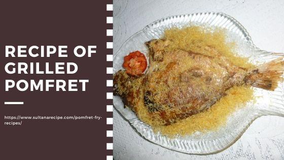Recipe of Pomfret fish