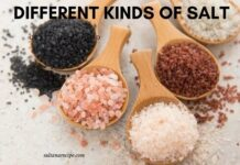 Different Kinds of salt