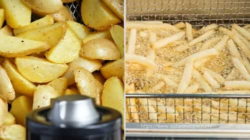 difference between air fryer and deep fryer