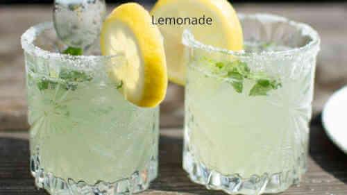 Spicy lemonade