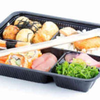Healthy Lunch in Bento box