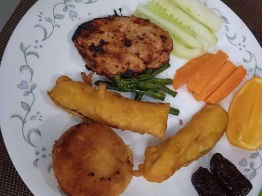 Grilled-Chicken-Breast-in-Air-Fryer