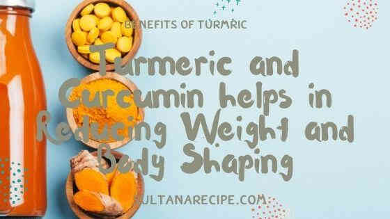 milk with turmeric for weight loss