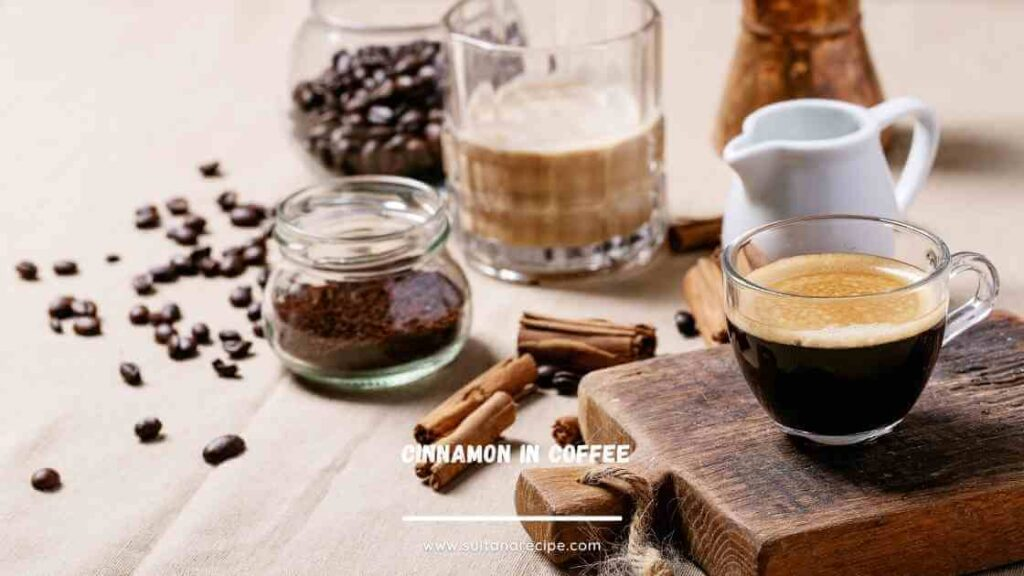 putting cinnamon in your coffee