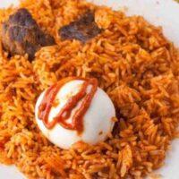 Spicy Jollof Rice