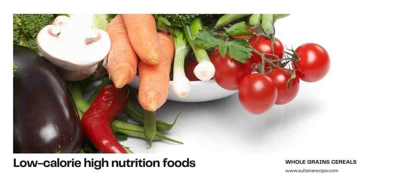 what are nutrient rich foods